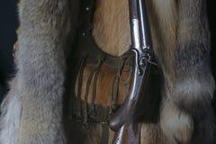 Старое корокоствольное оружие - натюрморт звероловства Стоковое Изображение RF
