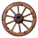 старое колесо фуры Стоковые Фотографии RF