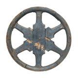 Старое колесо фуры стоковые изображения rf