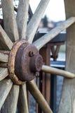 Старое колесо. Стоковое Изображение