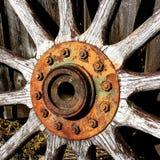 старое колесо стоковая фотография