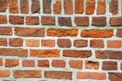 Старое красное brickwall Стоковая Фотография