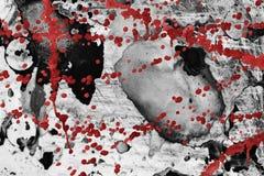 Старое кровопролитное grunge бесплатная иллюстрация