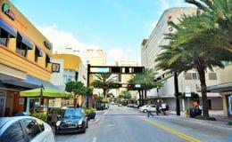 Старое Майами Стоковые Изображения RF
