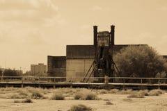 Старое машинное оборудование неизвестного фабрики Стоковая Фотография