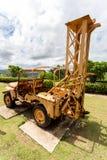 Старое машинное оборудование угольной шахты на maemo Таиланде Стоковое Изображение