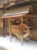 Старое малое деревянное здание Стоковое Изображение RF