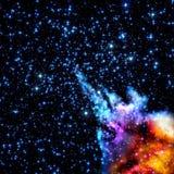 Старое межзвёздное облако Стоковое Изображение RF