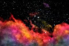 Старое межзвёздное облако иллюстрация вектора