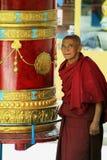 Старое монах Стоковая Фотография