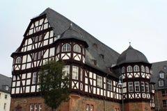 Старое немецкое здание Стоковая Фотография