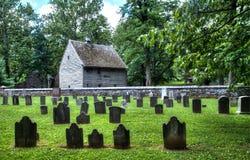 Старое немецкое кладбище Стоковые Фотографии RF