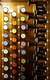 Старое нот органа Стоковое фото RF