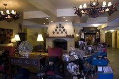 Старое лобби гостиницы Стоковые Фото