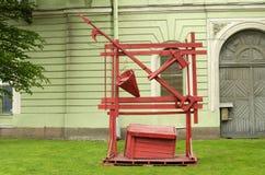 Старое оборудование от огня Стоковые Фотографии RF