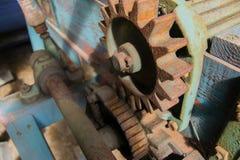 Старое обрабатывая землю машинное оборудование Стоковое Фото