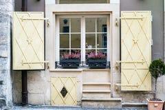 Старое окно в Львове Стоковые Фото