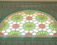 Старое окно в старом доме Стоковая Фотография