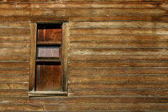 старое окно деревянное Стоковое фото RF