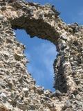 старое окно каменной стены Стоковое Фото