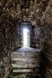 Старое окно - лазейка Стоковое Изображение