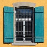 Старое окно дома, безшовная текстура Стоковые Фотографии RF