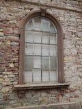 Старое окно дома руин Стоковая Фотография RF