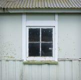 Старое окно сарая Стоковые Изображения