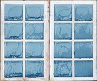 Окно с заморозком Стоковая Фотография RF
