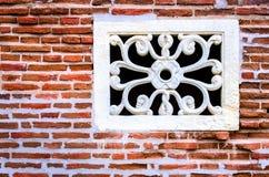 Старое окно хором Стоковая Фотография