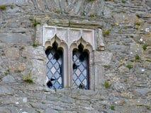 Старое окно церков Стоковое Изображение