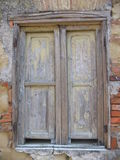 старое окно Стоковое Изображение RF