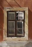 старое окно Стоковое Фото