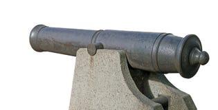 Старое оружие от прибрежной батареи Стоковые Фотографии RF