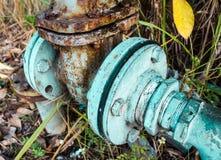 Старое отверстие клапана воды Стоковые Фотографии RF