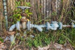 Старое отверстие клапана воды Стоковая Фотография