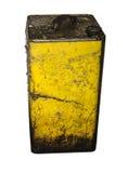 Старое олово масла Стоковые Фото