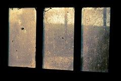 Старое пакостное окно Стоковое Изображение