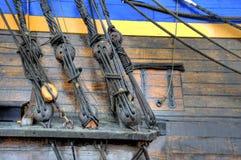 Старое парусное судно Стоковые Изображения RF