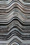 Старое перекрытие листов толя гипса для предпосылки фото Стоковые Изображения RF