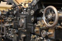 старое печатание давления Стоковое Изображение RF