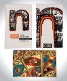 Старое ПИСЬМО n дизайна визитной карточки Стоковые Фотографии RF