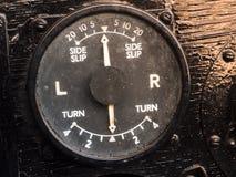 Старое поворачивая indicater стоковая фотография rf