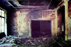 Старое покинутое здание Стоковая Фотография