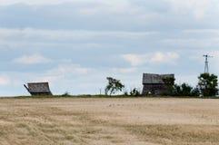 Старое покинутое Farmsight Стоковая Фотография