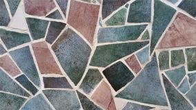 Старое покрашенное красочное кирпичной стены Стоковая Фотография
