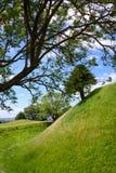 Старое поселение Sarum остается Солсбери Уилтширом южным западным Engl Стоковое Фото
