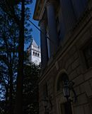 Старое почтовое отделение колокол и башня с часами Вашингтон, d C, Стоковые Фотографии RF