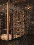 Старое подземелье замка Стоковое Изображение