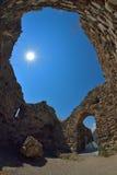 Старое подземелье замка Стоковое Изображение RF